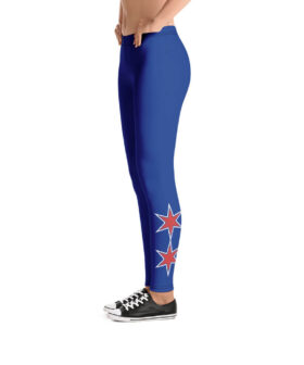 Chicago Cubs Inspired Alternate Jersey Yoga Pants