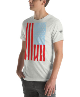 50 Chicago Stars - USA Flag T Shirt