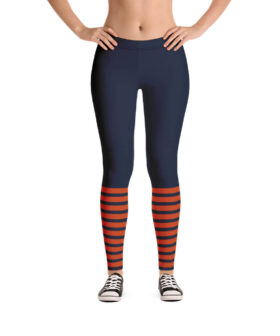 Chicago Bears 2019 Throwback Jersey Inspired Yoga Pants