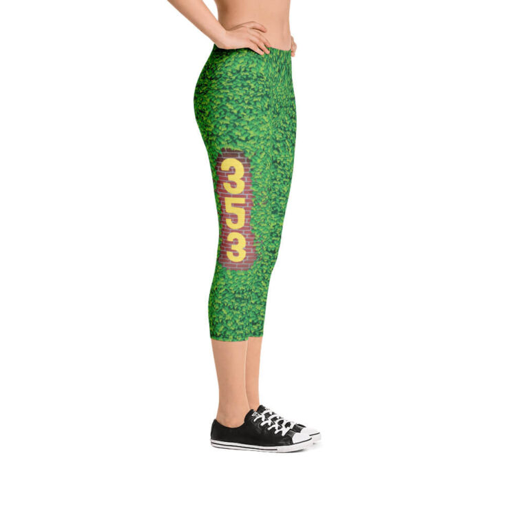 Chicago Cubs Inspired Outfield Ivy Leggings - Right Field 353