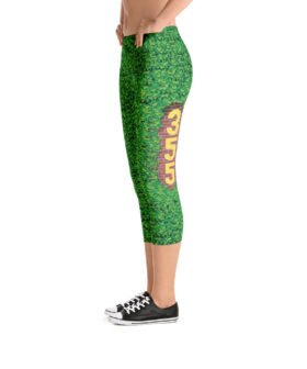 Chicago Cubs Inspired Outfield Ivy Leggings - Left Field 355