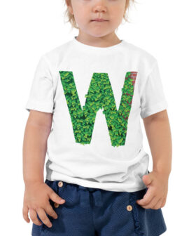 Chicago Cubs Inspired W Flag Kids Shirt