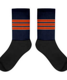 Chicago Bears Inspired Socks - Home Jersey Style