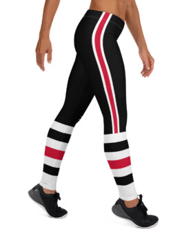 Chicago Blackhawks Inspired Leggings