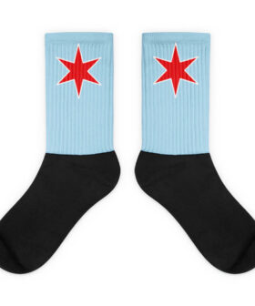 Chicago Star Socks
