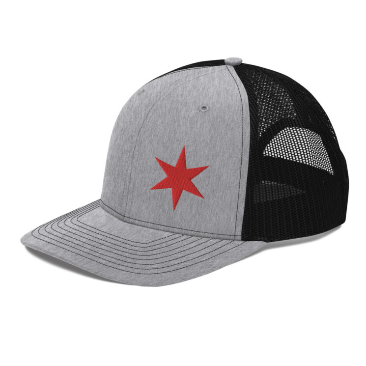 Chicago Hat One Star High Profile Trucker Hat