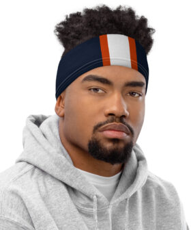Chicago Bears Inspired Neck Gaiter Face Mask